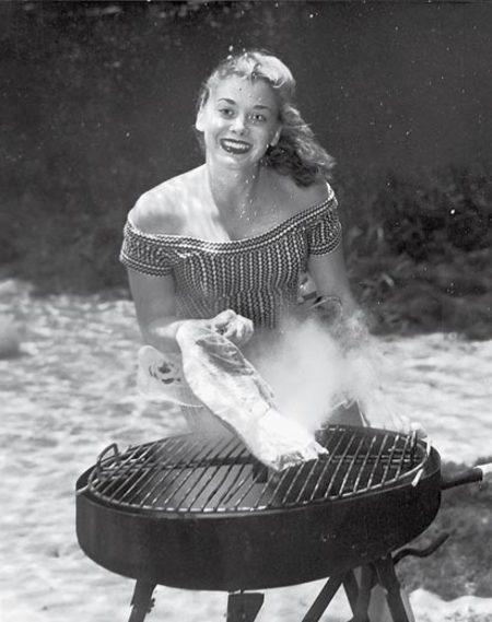Underwater Cookery. Bruce Mozert
