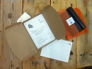 libreta cuero nota y garabato lista para enviar como regalo para escritor