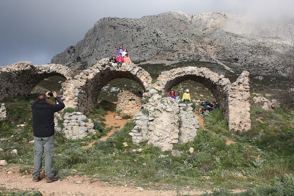 Ruinas del Fort de Bèrnia.