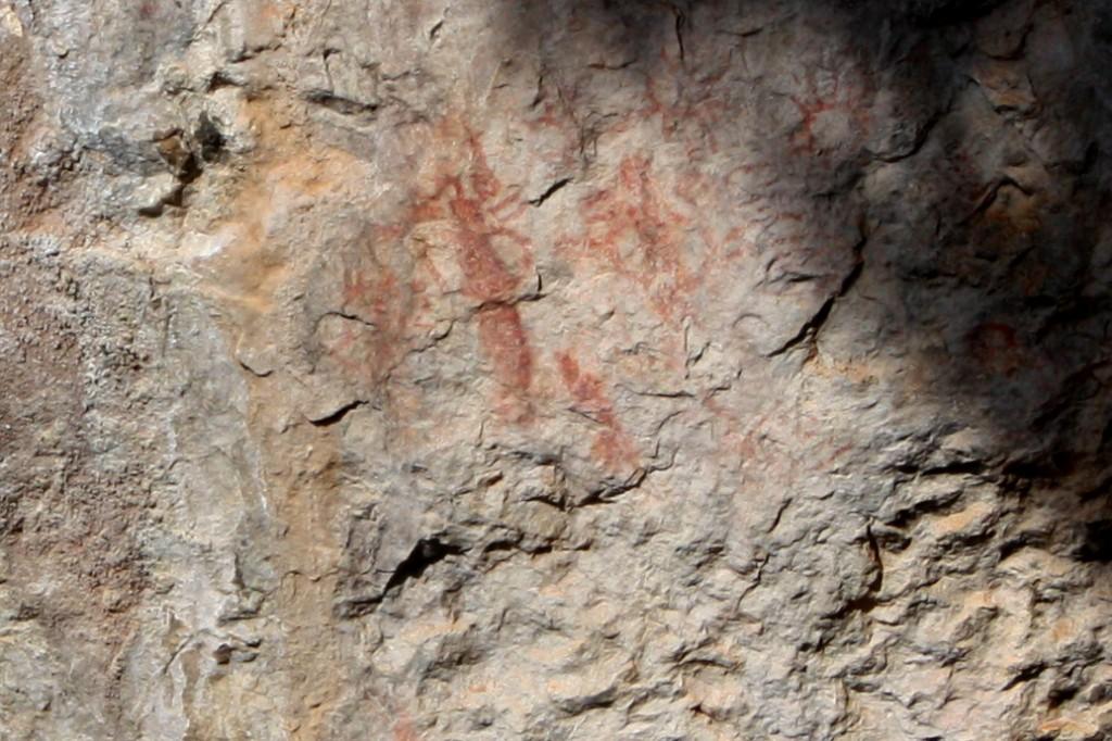 Pinturas rupestres de la Ermita del Vicari.