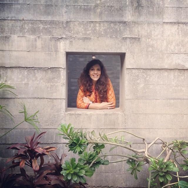 Leila Alaoui en India.  Foto procedente de su Instagram.  http://tofo.me/leilaalaoui