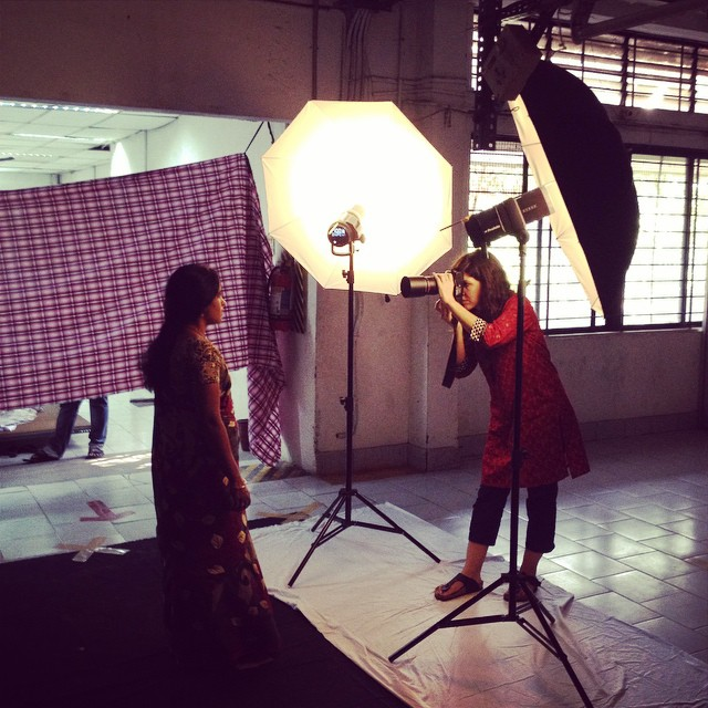 Leila Alaoui en India.  Foto procedente de su Instagram. Leila Alaoui en India.  Foto procedente de su Instagram.  http://tofo.me/leilaalaoui
