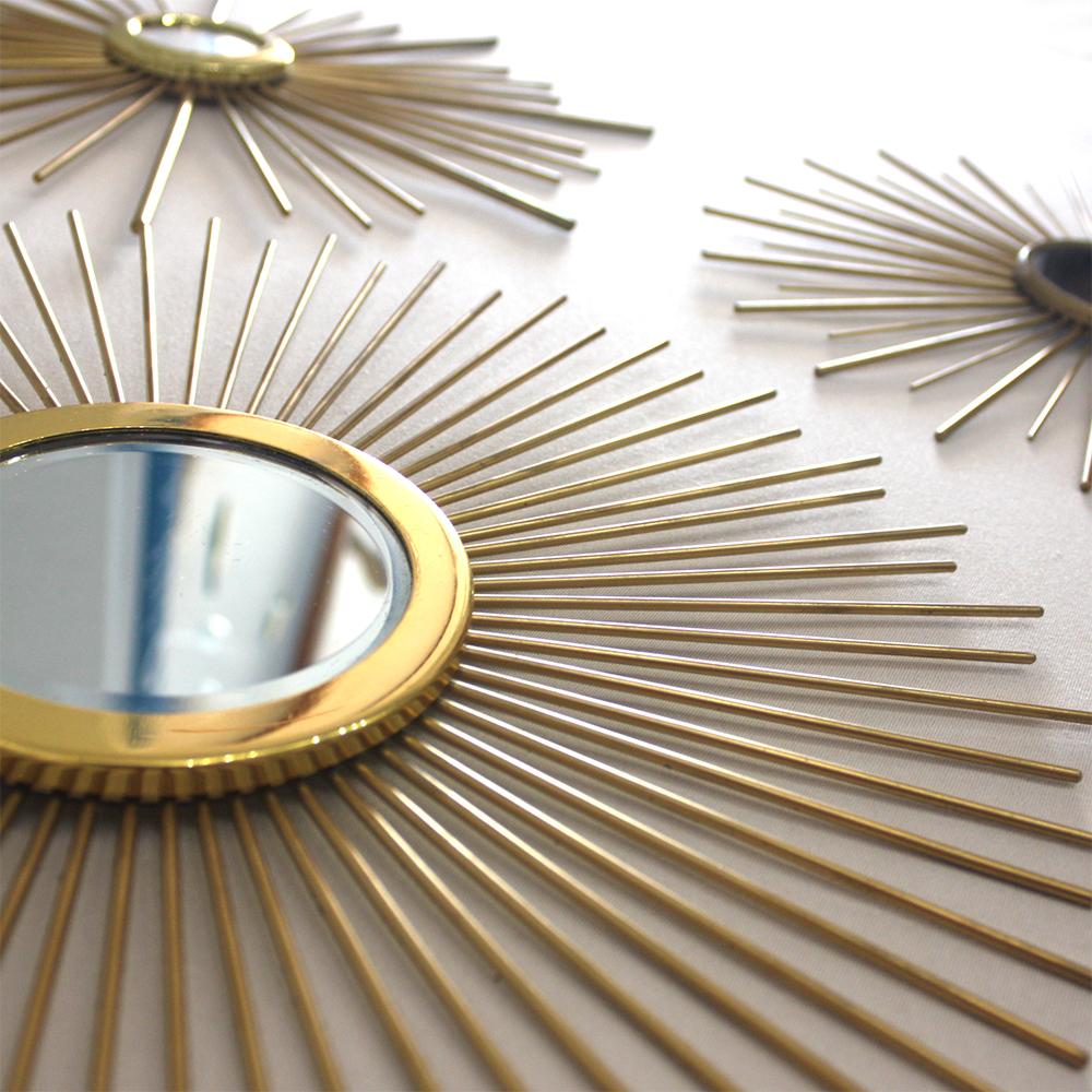 espejos artesanales dorados