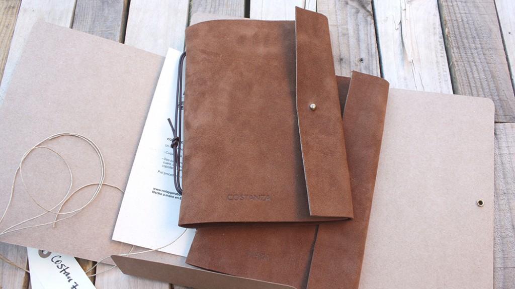 libreta personalizada nota y garabato: cuaderno Elemental talla L.