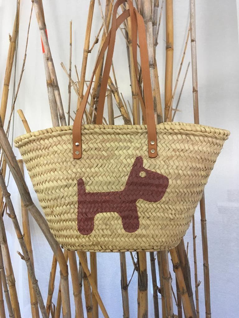 bolso playa perrito