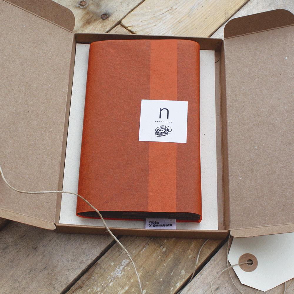 libreta nota y garabato packaging