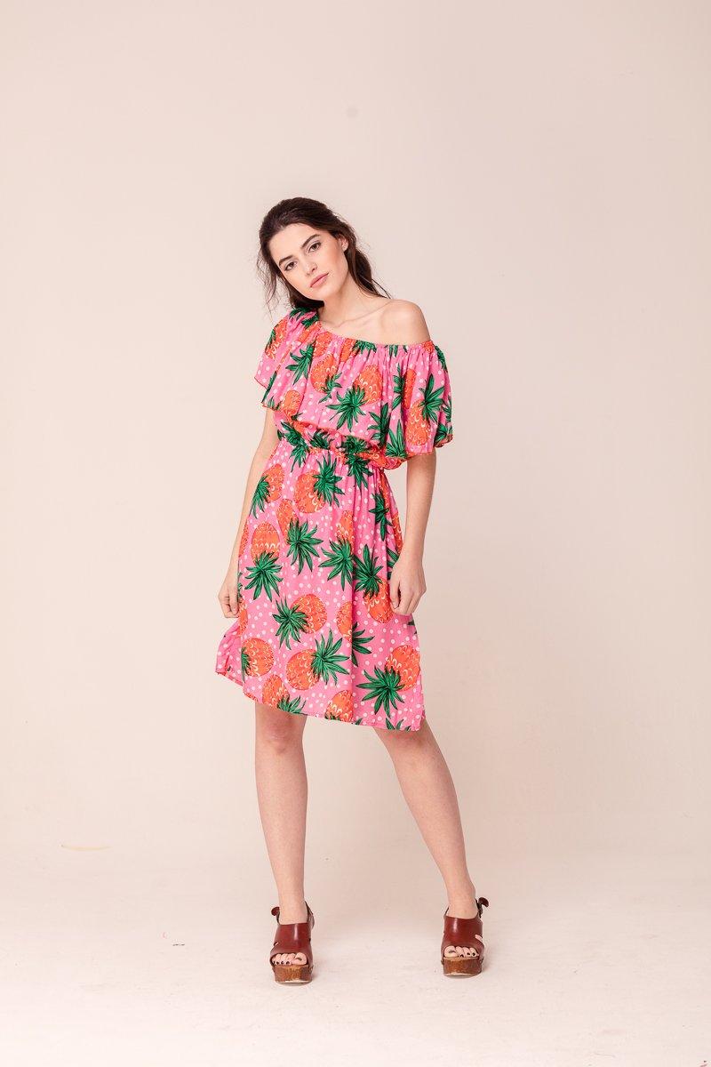 vestido azalea pinas smile