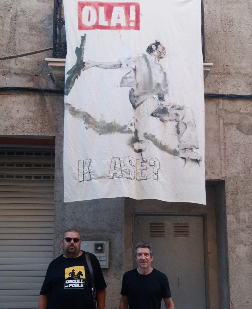 Obra de Javier Medina en ART AL VENT 2020