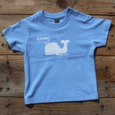 Camiseta ballena para bebé