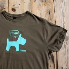 Camiseta perro para chico