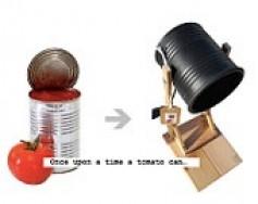 De la lata a la lámpara