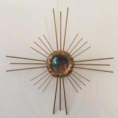 Espejo vintage 38 cm diámetro