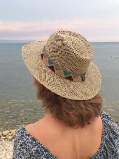 Sombrero de algas