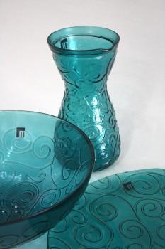 Objetos de vidrio soplado de La Mediterránea