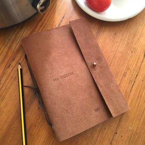 Cuaderno de recetas. Ejemplo de personalización.