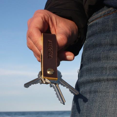 Detalle del llavero con llaves